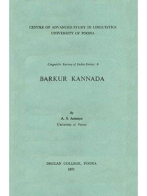 Barkur Kannada