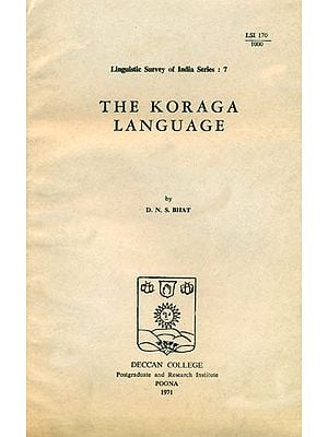 The Koraga Language