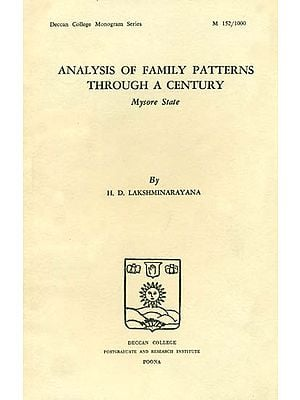 Analysis of Family Patterns Through a Century (An Old and Rare Book)
