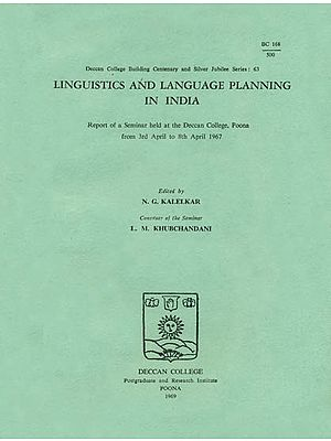 Linguistics and Language Planning in India