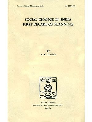 Social Change in India First Decade of Planning