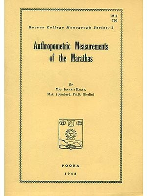 Anthropometric Measurements of The Marathas