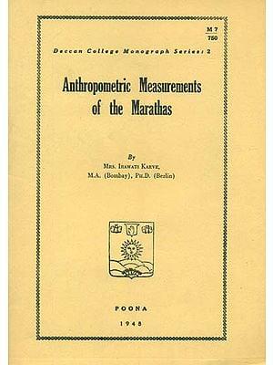 Anthropometric Measurements of The Marathas