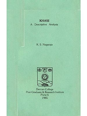 Khasi: A Descriptive Analysis (An Old and Rare Book)