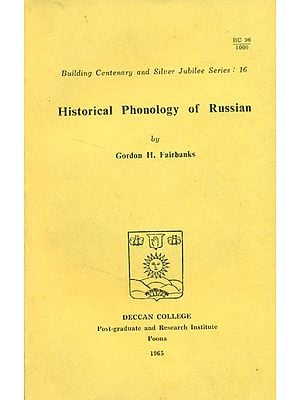 Historical Phonology of Russian (An Old and Rare Book)