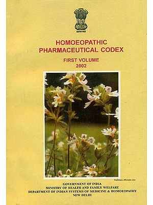 Homoeopathic Pharmaceutical Codex (An Old and Rare Book)