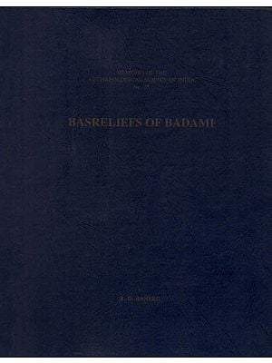 Basreliefs of Badami (An Old and Rare Book)