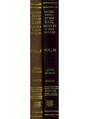 Jaina Sutras (Set of Two Volumes)