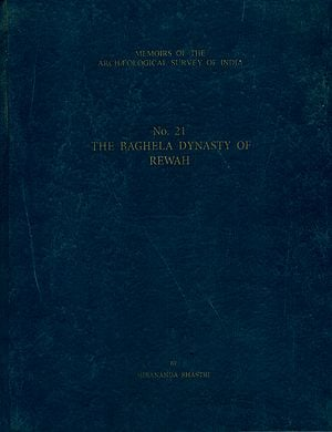 The Baghela Dynasty of Rewah (An Old and Rare Book)