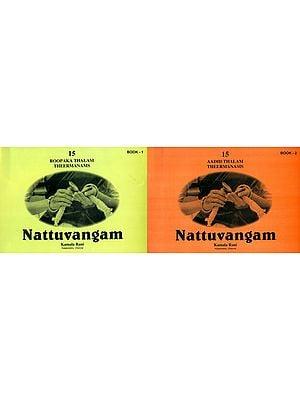 Nattuvangam: Roopaka and Aadhi Thalam Theermanams (Set of 2 Volumes)