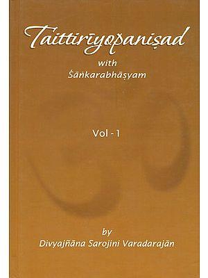 Taittiriyopanisad with Sankarabhasyam
