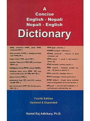 A Concise English - Nepali, Nepali - English Dictionary