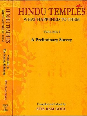 Hindu Temples: What Happened to Them (Set of 2 Volumes)