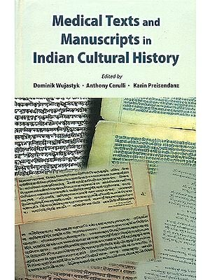 Medical Texts and Manuscripts in Indian Cultural History