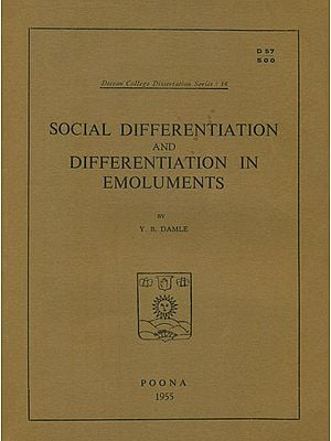 Social Differentiation and Differentiation in Emoluments (An Old and Rare Book)