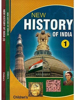 New History of India (Set of Three Volumes)