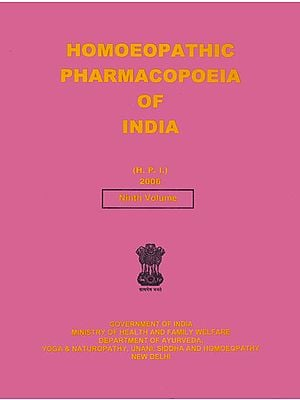 Homoeopathic Pharmacopoeia of India (Ninth Volume)
