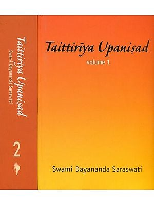 Taittiriya Upanisad (Set of 2 Volumes)