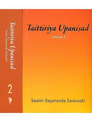 Taittiriya Upanisad (Set of 2 Volumes)
