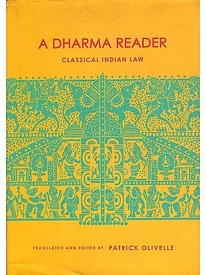 A Dharma Reader - Classical Indian Law