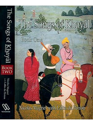 The Songs of Khayal with Notations (Set of 2 Big Volumes)