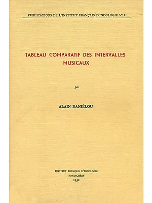 Tableau Comparatif Des Intervalles Musicaux (An Old and Rare Book)