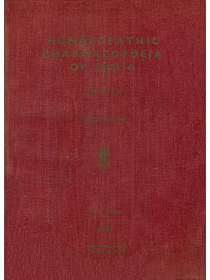 Homoeopathic Pharmacopoeia of India - Fourth Volume (An Old and Rare Book)