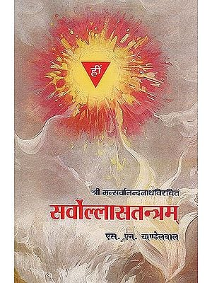 सर्वोल्लासतन्त्रम: Sarvollasatantram (Srimat Sarvanandanatha)