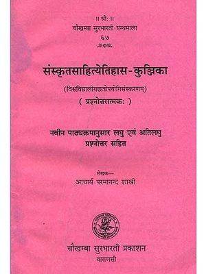 संस्कृतसाहित्येतिहास- कुञ्जिक: History of Sanskrit Literature (Question and Answer)