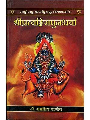 श्री प्रत्यंगिरापुनश्र्चर्या: Sri Pratyangira Punashcharya