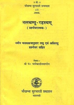 नलचम्पू रहस्यम्: Nala Champu Rahasyam (Question and Answer)
