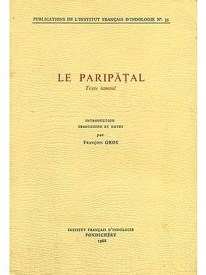 Le Paripatal - Texte Tamoul (An Old and Rare Book)