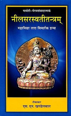 नीलसरस्वती तन्त्रम्:  Nila Saraswati Tantram with Hindi Commentary