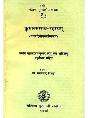 कुमारसम्भव रहस्यम्: Kumarasambhava of Kalidasa (Question and Answer)