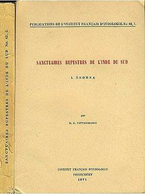 Sanctuaires Rupestres De Linde Du Sud - Set of 2 Volumes (An Old and Rare Book)