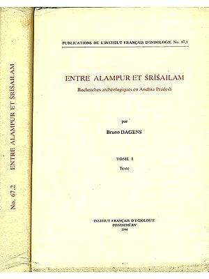 Entre Alampur et Srisailam - Recherches Archeologiques en Andhra Pradesh (Set of 2 Volumes)