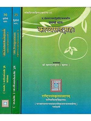 काव्यसंग्रह, सप्तशतीसंग्रह, तुलसीसूरकाव्यसंग्रह: Collected Works of Prema Narayana Dwivedi (Set of 3 Volumes)