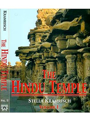 The Hindu Temple (Set of 2 Volumes): The Most Comprehensive Book Ever Published on the Subject