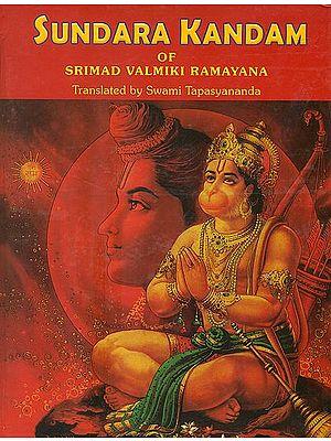 Sundara Kandam of Srimad Valmiki Ramayana