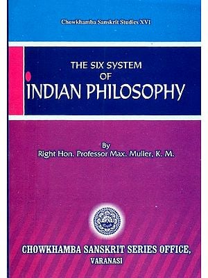 The Six Systems of Indian Philosophy -An Old Book