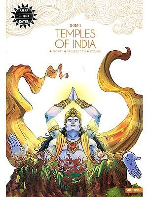 Temple of India (Tirupati, Vaishno Devi, Konark) (Comic)
