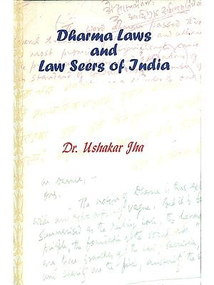 Dharma Laws and Law Seers of India