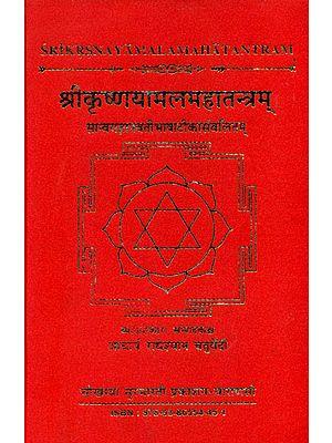 श्रीकृष्णयामलमहातन्त्रम् - Sri Krishnayamalam Mahatantram (With the Jnanavati Hindi Commentry)