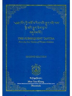 The Subsequent Tantra (From the Four Tantras of Tibetan Medicine)