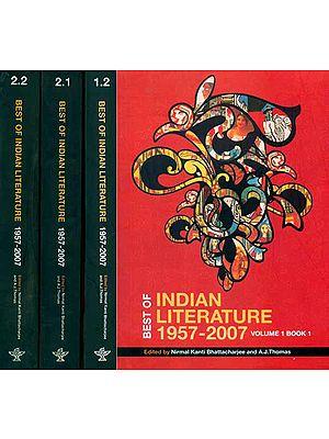 Best of Indian Literatuer 1957 - 2007 (Set of 4 Books)