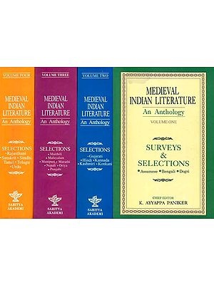 Medieval Indian Literature - An Anthology (Set of 4 Volumes)