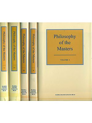 Philosophy  of the Master - A Translation into English from the Original Gurmat Sidhant (Set of 5 Volumes)