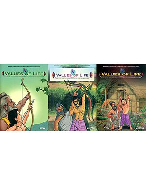 Values of Life: Based on The Knowledge of Holy Scriptures (Bringing In A Revolution in The Hearts of School Children) (Set of 3 Volumes)