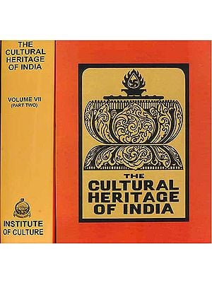 The Cultural Heritage of India - The Arts (Set of 2 Volumes)