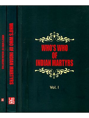 Who's Who of Indian Martyrs (Set of Three Volumes)